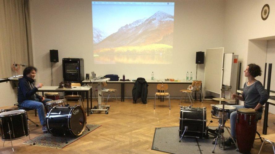 Eindrücke vom Percussion Kurs mit Massimo Cusato (3)