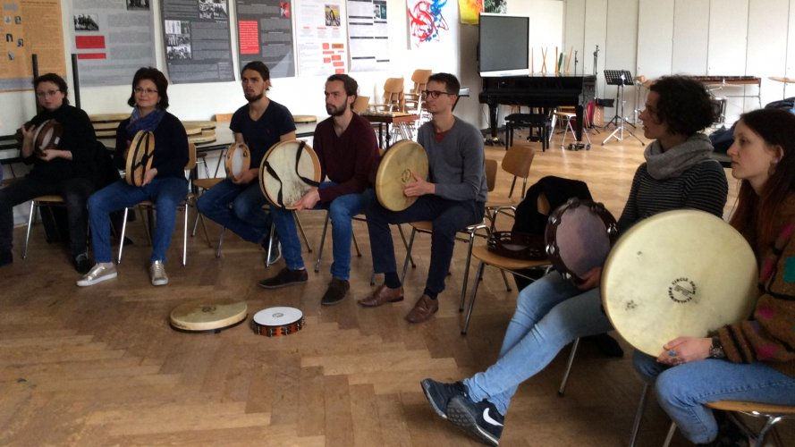 Eindrücke vom Percussion-Kurs mit Massimo Cusato (5)