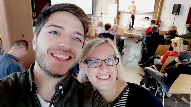 Melanie Seidenglanz, Max Wetterauer, Barcamp, Rhein-Neckar, Dezernat 16, Heidelberg