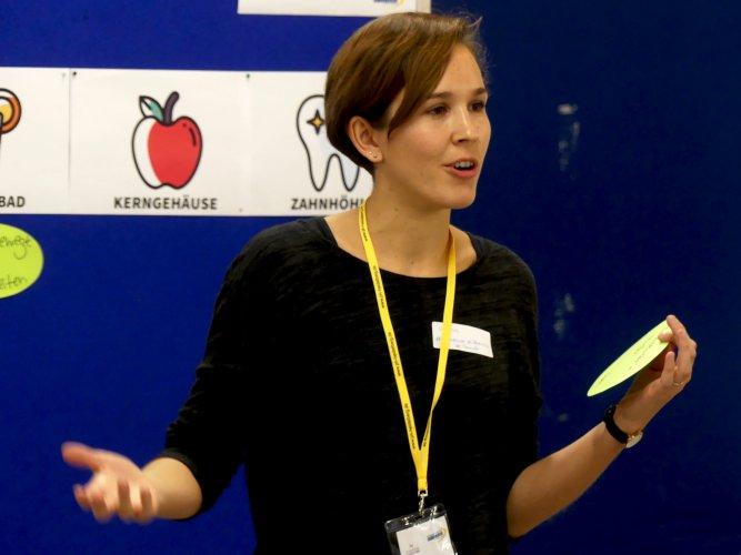 Sophie Kindt, Barcamp, Gesundhochdrei, Gesundheit, PH Heidelberg