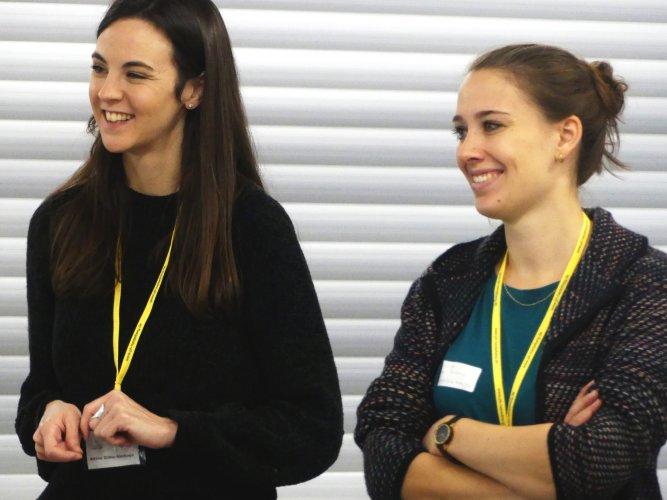 Julika Witte, Aitana Gräbs Santiago, Barcamp, Gesundhochdrei, Gesundheit, PH Heidelberg