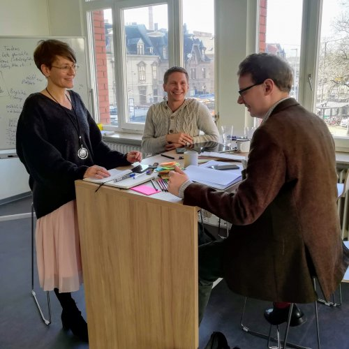 Hannu Sparwald, Petra Fetzer, Transferzentrum, PH Heidelberg