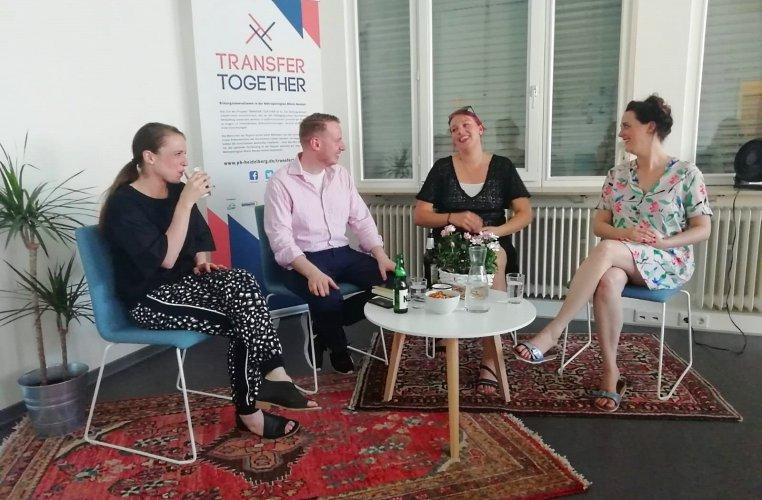 Hannu Sparwald, Johannah Illgner, Female Founders, Transferzentrum