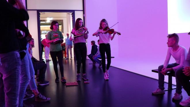 Goethe, Musik, Kunst, Jugendliche, Kunsthalle Mannheim, Kathrin Schweizer