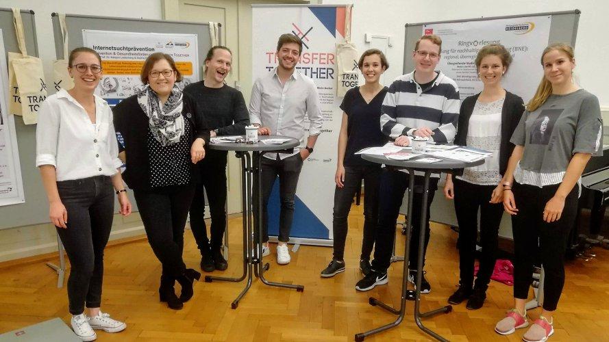 Julika Witte, Chiara Dold, Christian Spannagel, Max Wetterauer, Sophie Kindt, Hannu Sparwald, Julia Wlasak, PH Heidelberg, Stadt Heidelberg
