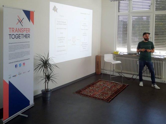 Fabian Bastam, Erdmännchen und Bär, Transferzentrum, Transfer Treff