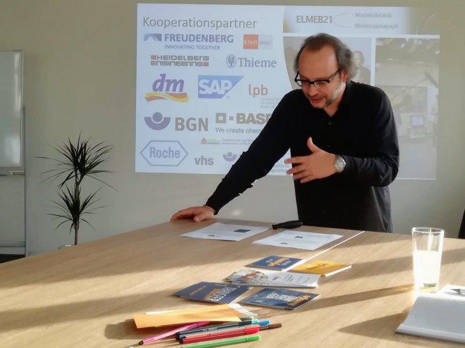 Holger Meeh, Medienzentrum, Transfer Treff, Transferzentrum