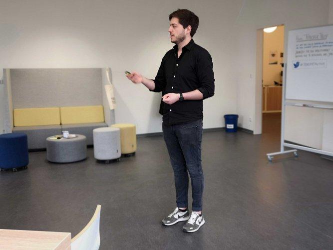 Max Wetterauer, Transfer Treff, Transferzentrum