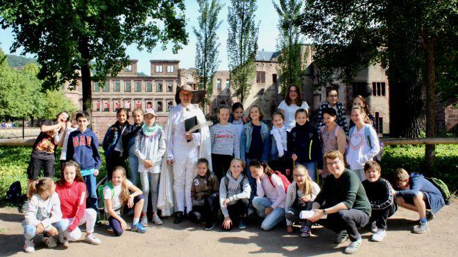Goethe, Ginkgo, Heidelberger Schloss, Kathrin Schweizer, PH Heidelberg