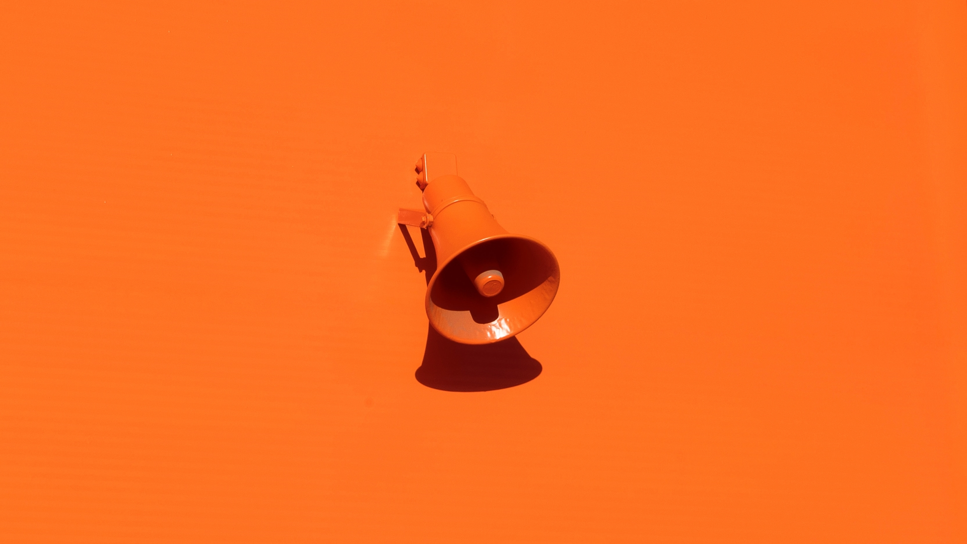 Lautsprecher, Orange, unsplash.com, Oleg Laptev