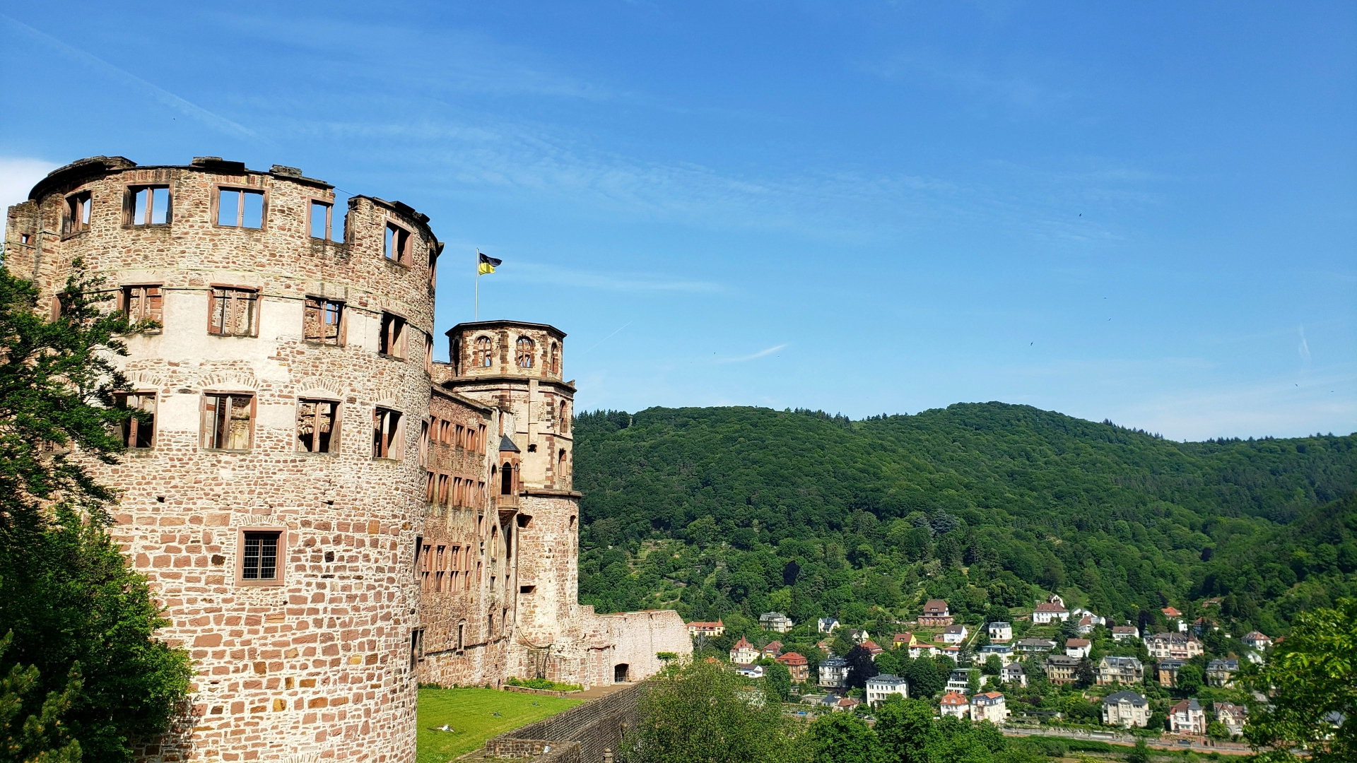 Heidelberg, Heidelberger Schloss, unsplash.com, Steven He