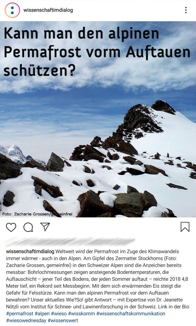 Instagram, @wissenschaftsimdialog