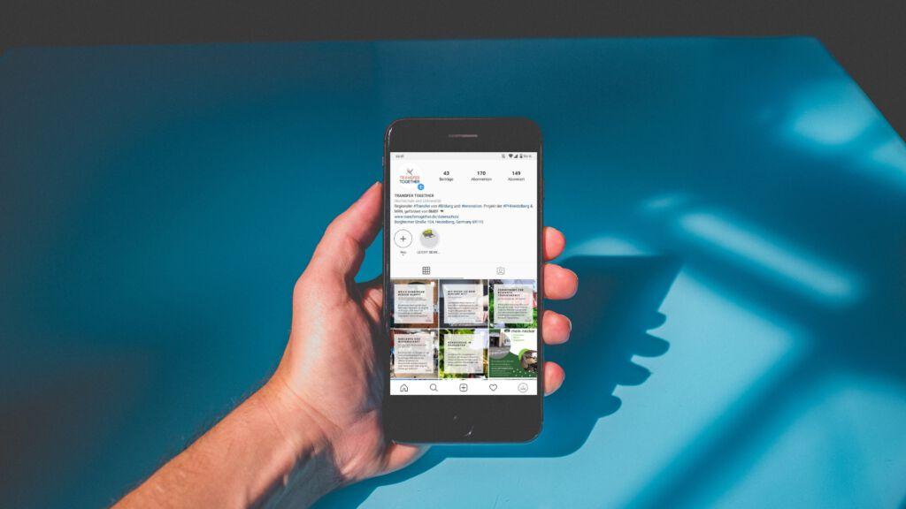 Instagram, Smartphone, Handy, unsplash.com, NEONbrand
